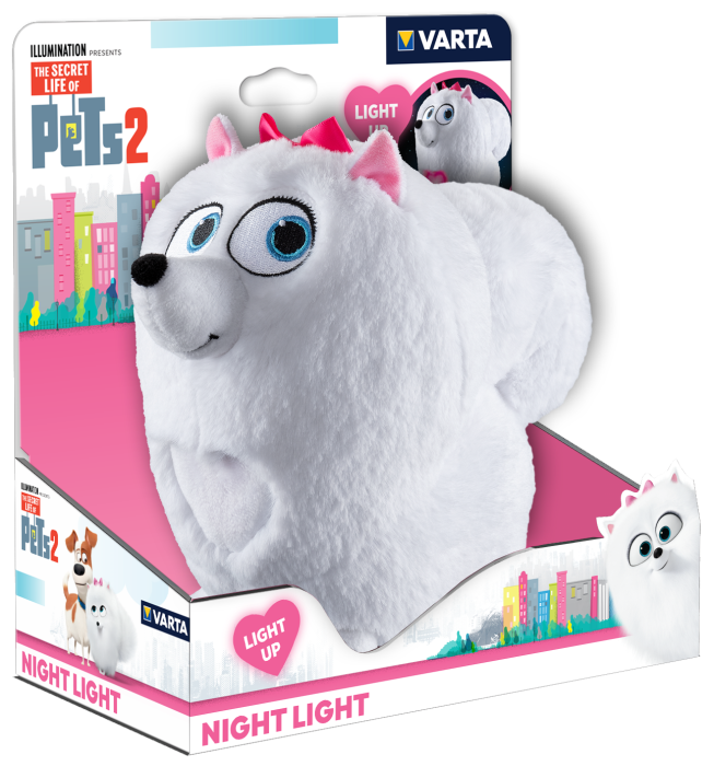 Ліхтар VARTA SECRET LIFE OF PETS GIDGET
