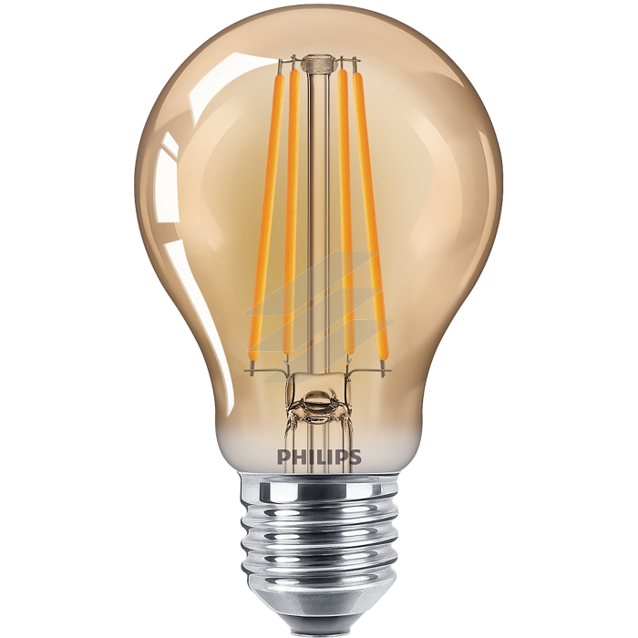 Лампа світлодіодна Philips Filament LED Classic 5.5-48 Вт A60 E27 825 CL GNDAPR
