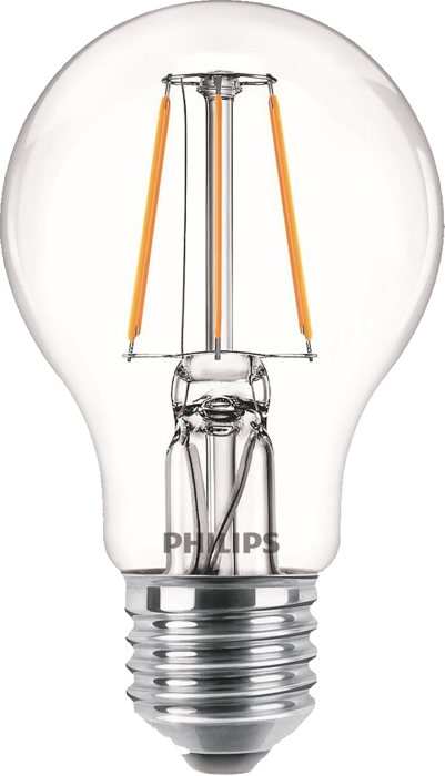 Лампа світлодіодна Philips Filament LED Classic 6-60 Вт A60 E27 865 CL NDAPR