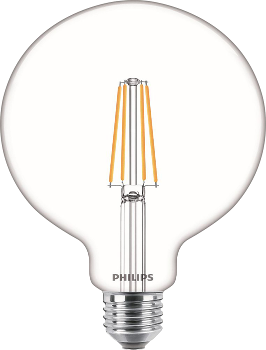 Лампа світлодіодна Philips Filament LED Classic 6-60 Вт G120 E27 830 CL NDAPR