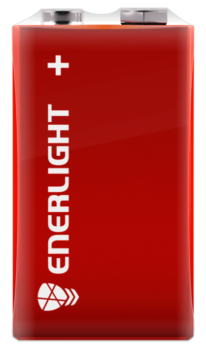 Батарейка ENERLIGHT MEGA POWER 6LR61 FOL 1