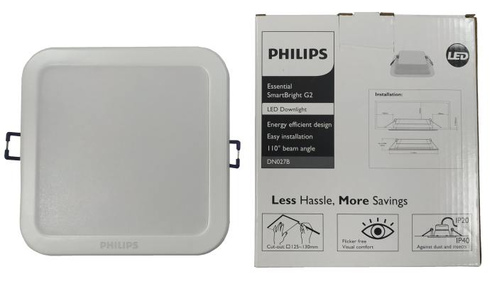 Світильник Philips DN027B LED9/NW 11W L125 SQ