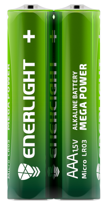 Батарейка ENERLIGHT MEGA POWER AAA FOL 2