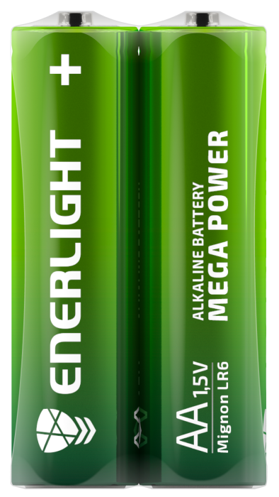 Батарейка ENERLIGHT MEGA POWER AA FOL 2